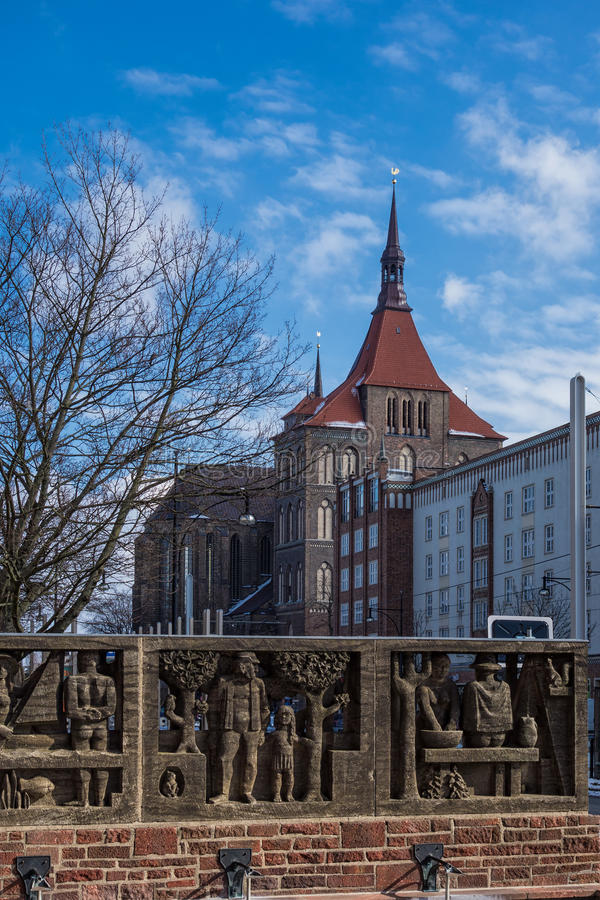 Download Rostock stock photo. Image of house, blue, city, sunny - 29834606