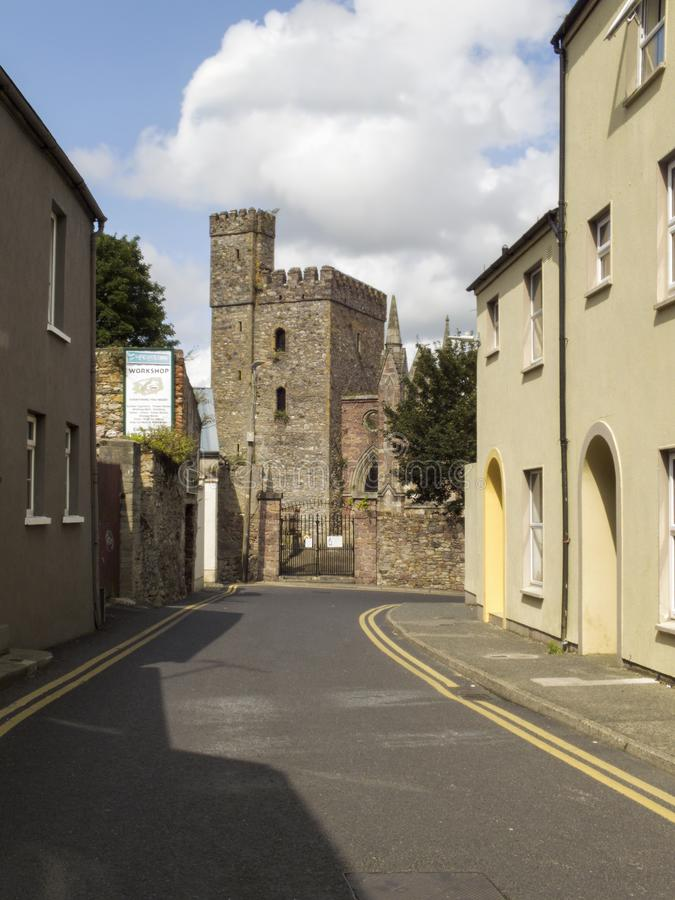 View to St.Selskar Church in Wexford royalty free stock image