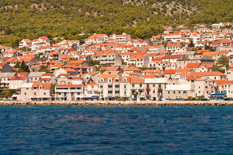 Download View To The Town Of Bol. The Island Of Brac. Croatia. Stock Image - Image: 34266661