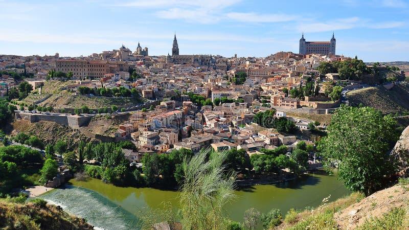 Toledo old town, Spain stock photo