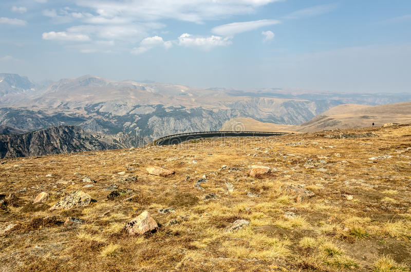 Download View at the Top stock image. Image of turn, absaroka - 26835435