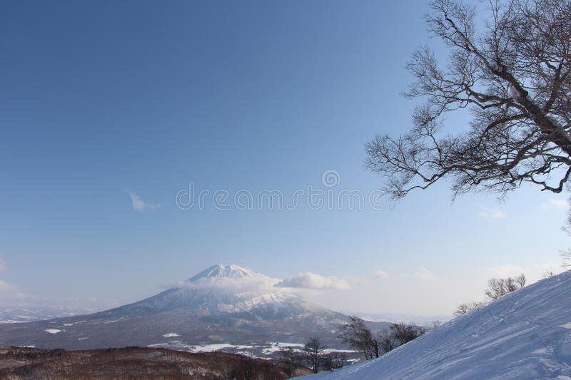View from the top of hanazono number 2 chairlift. Japan stock photos