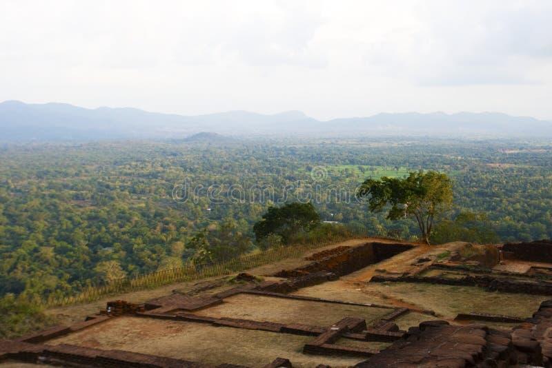 Download View From Top Of Sigiriya Rock, Sri Lanka Stock Image - Image: 17727335