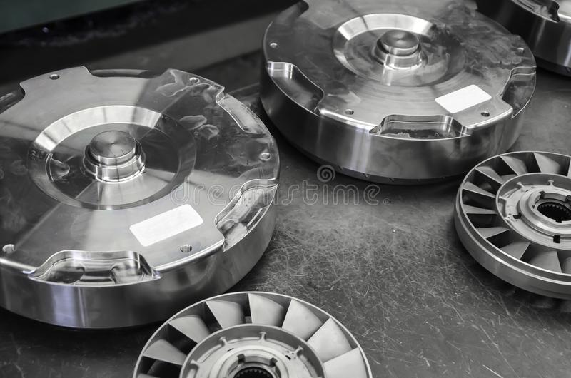 Torque Converter Break Down Two royalty free stock photo