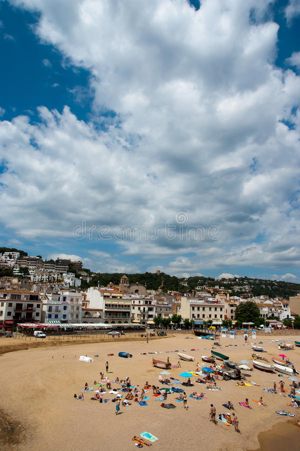 View Of Tossa De Mar Catalunya Spain Editorial Image