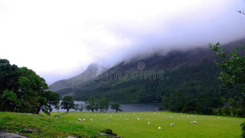 Buttermere, Lake district. royalty free stock images