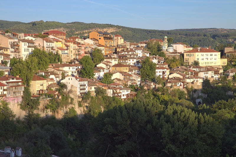 Download View From Town Veliko Tarnovo In Bulgaria Stock Image - Image: 18361095