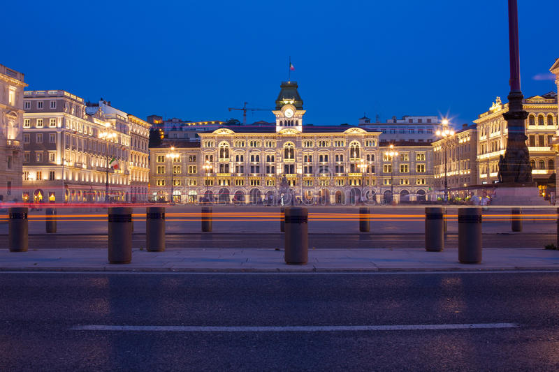 View of Trieste stock photo