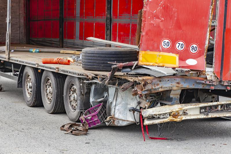 Truck Accident Stock Images - Download 8,102 Royalty Free Photos