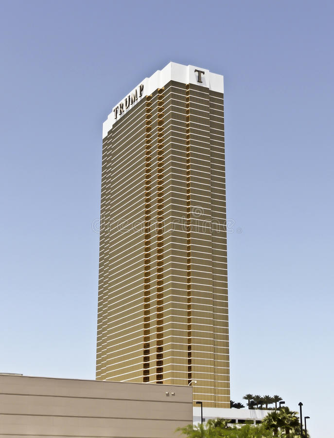 Download A View Of The Trump Tower, Las Vegas Editorial Stock Photo - Image: 20434188