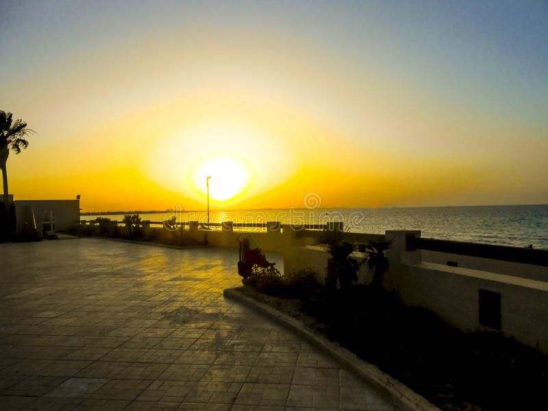 View in Tunisia royalty free stock photo