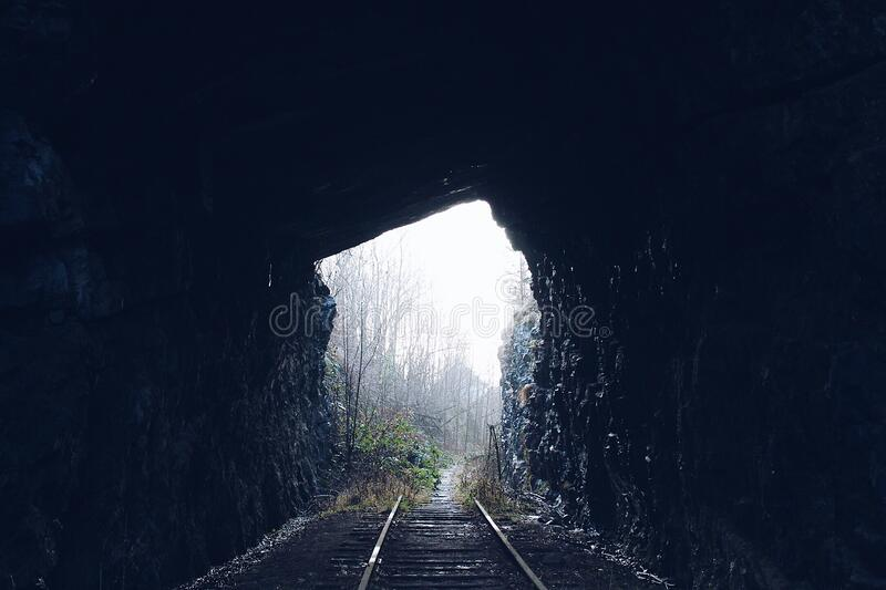 View of Tunnel stock images