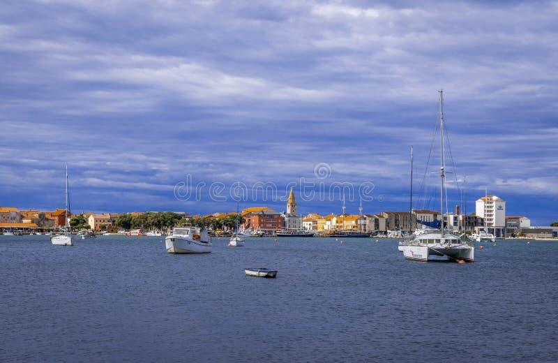 View of Umag, Istria, Croatia. View of Umag, Adriatic Sea, Istria, Croatia, Europe royalty free stock photography