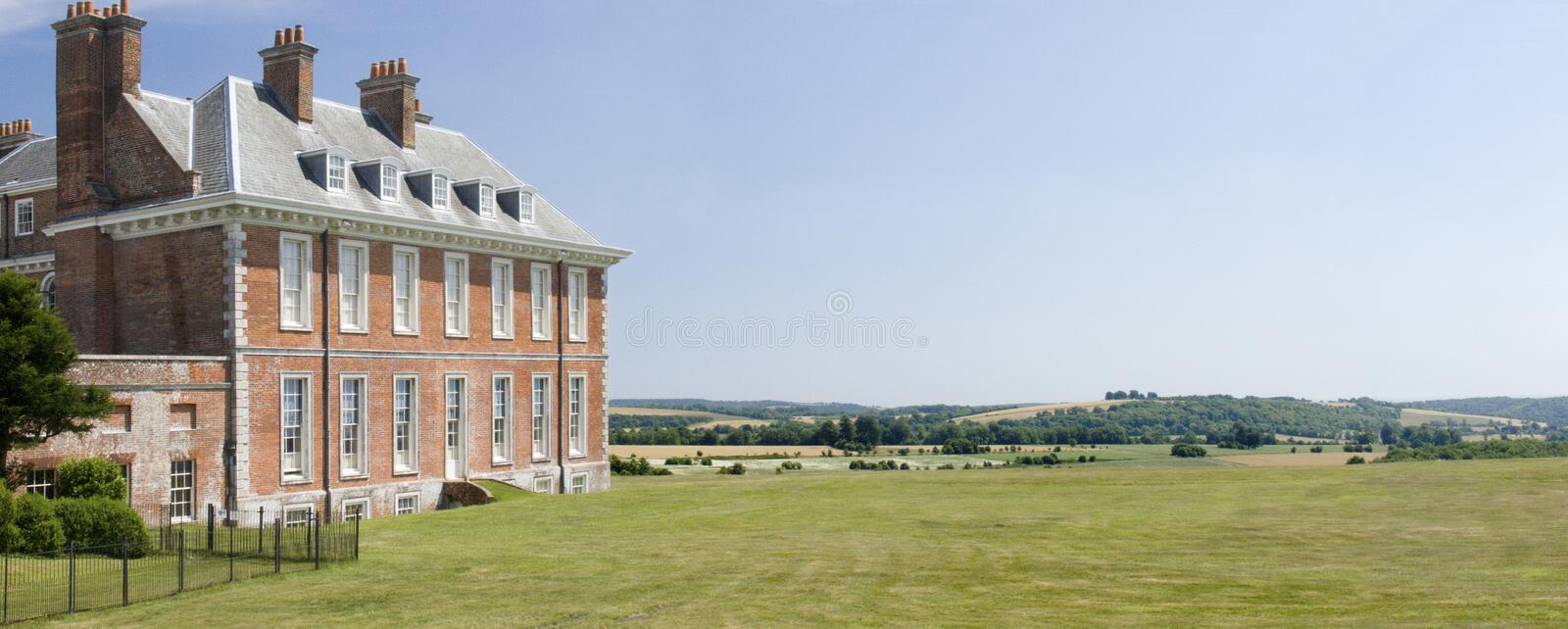View from Uppark House stock photo