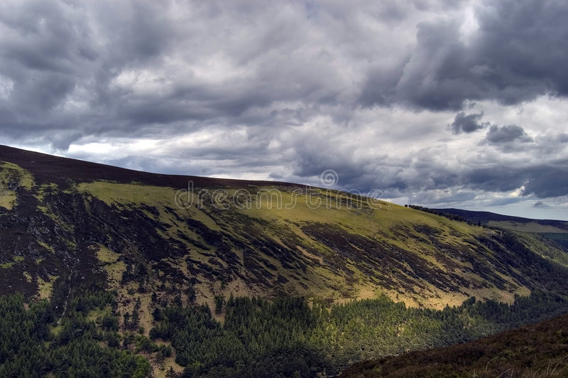 View Of Upper Lake. Ireland Stock Image