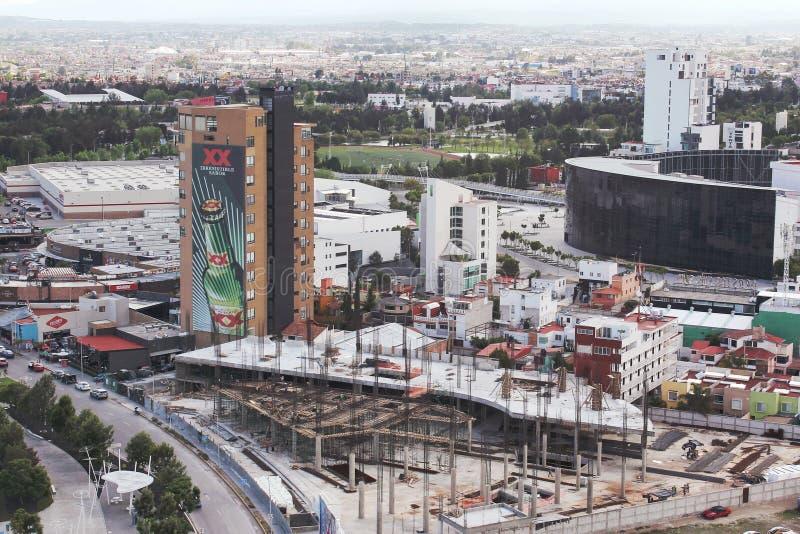 Puebla, Mexico Urban Sprawl royalty free stock images
