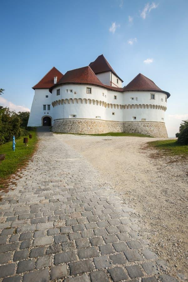 Veliki Tabor castle in Zagorje stock images