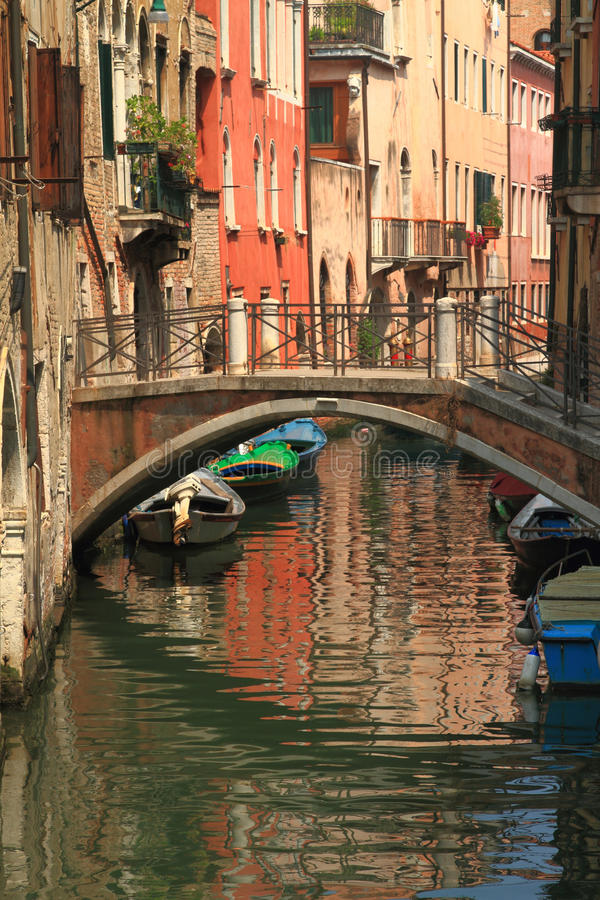 Download View Of Venice With Canal And Old Buildings Stock Photo - Image: 32503030