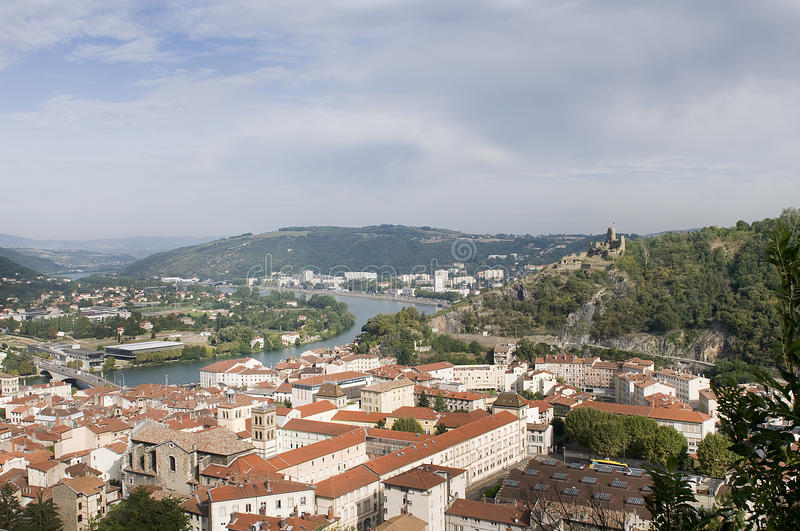 A view of Vienne royalty free stock images