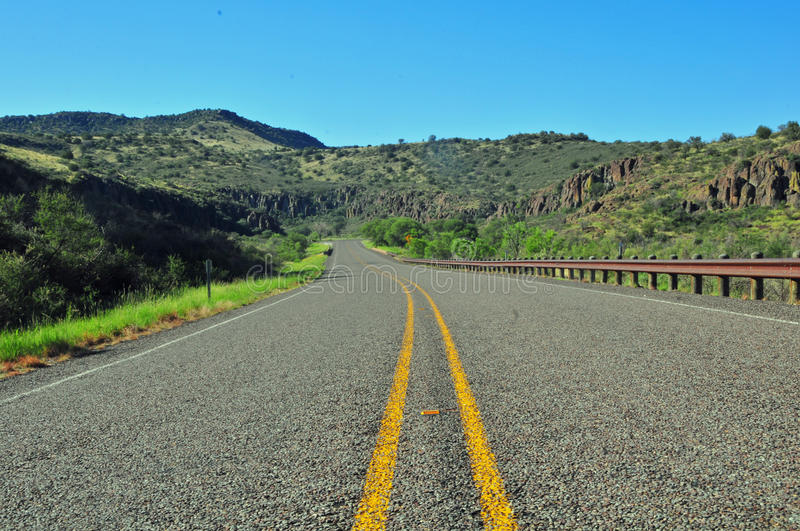 View for View on the Open Highway-Relaxing royalty free stock photo