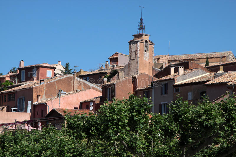 Download View Of The Village Of Roussillon Stock Photo - Image: 16304404