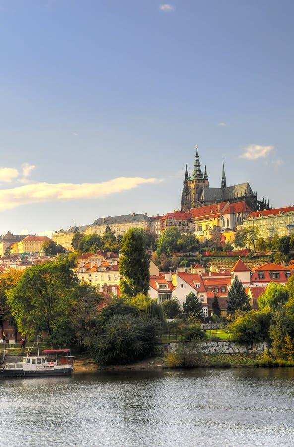 View Of Vltava River Royalty Free Stock Photo