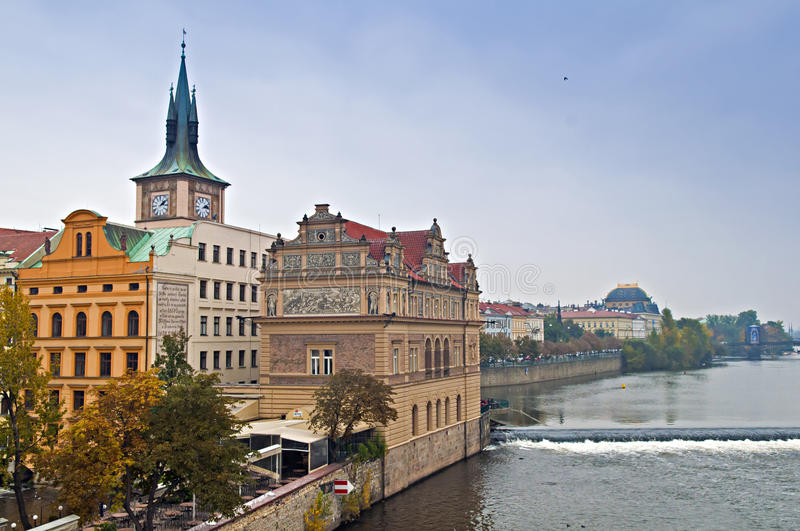 View Of Vltava River Royalty Free Stock Images