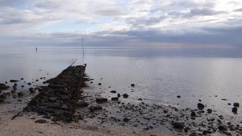 View wadden sea stock image