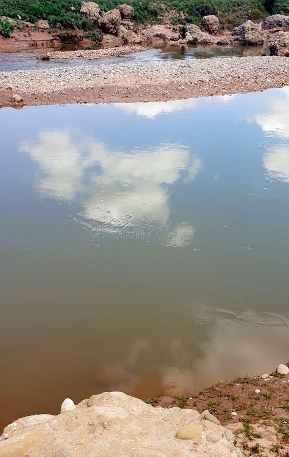 View of Wadi Darnah stock photos