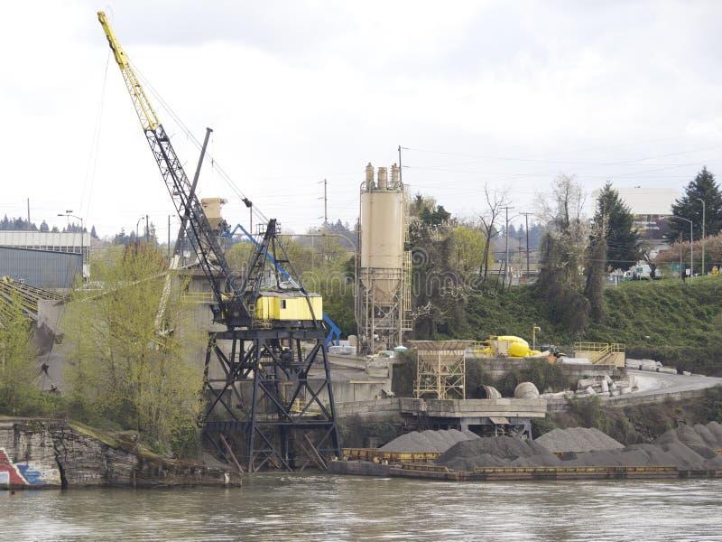 View waterfront Portland royalty free stock photos