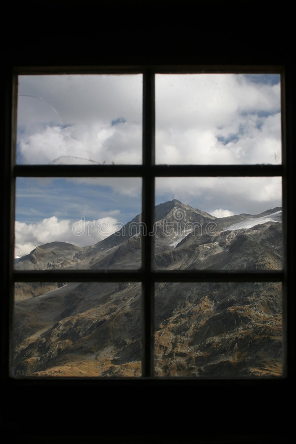 Download View from window stock image. Image of mount, austria - 1345825