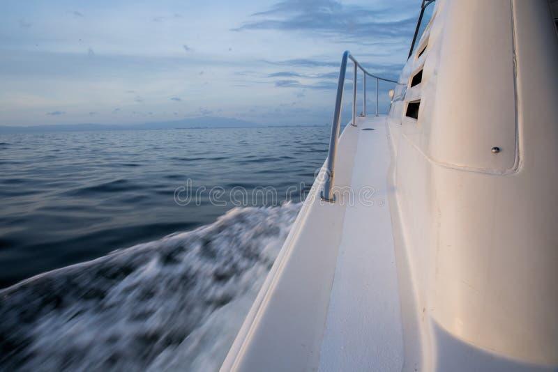Banderas Bay Yacht stock image