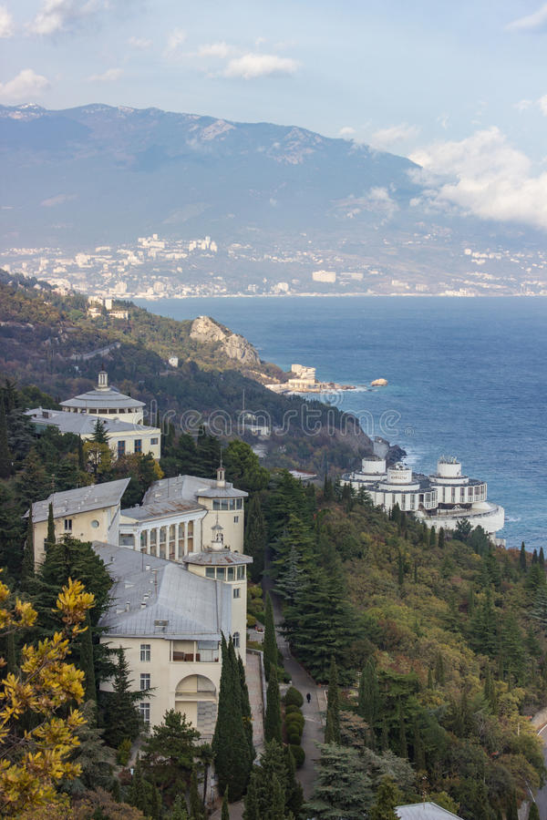 View of Yalta 库存图片