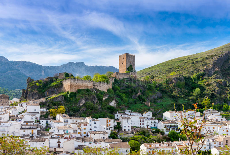 View of Yedra Castle Cazorla. Jaen Province, Andalusia, Spain royalty free stock image