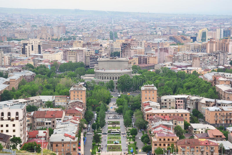 Download View Of Yerevan Center, Armenia Editorial Photo   Image Of  Architecture, Exterior:
