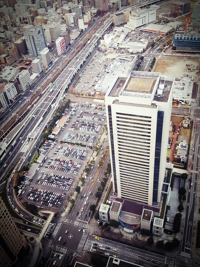 View of Yokohama royalty free stock image