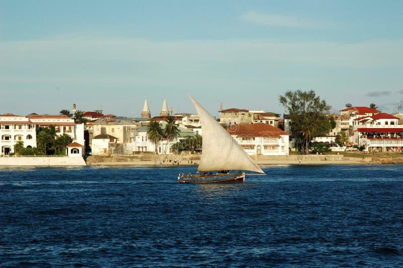 View of Zanzibar royalty free stock image