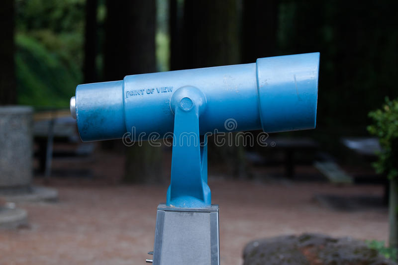 Download Viewfinder am Park stockfoto. Bild von blau, ansicht - 27732066