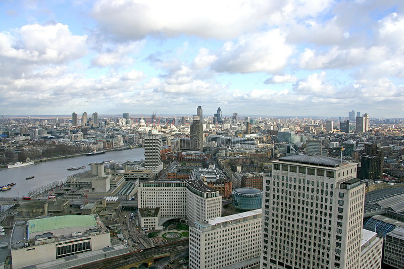 Download Viewing London 10 stock photo. Image of london, clouds - 1848356