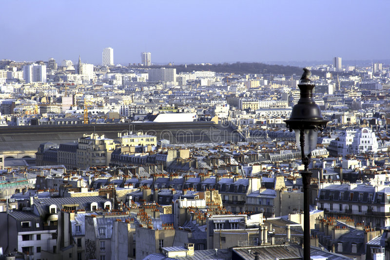 Download Viewing Paris From Montmartre Stock Image - Image: 2200681
