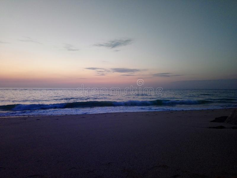 Viewl di tramonto immagine stock libera da diritti