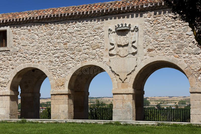 Download Viewpoint of the arches stock photo. Image of stone, castilla - 26314650