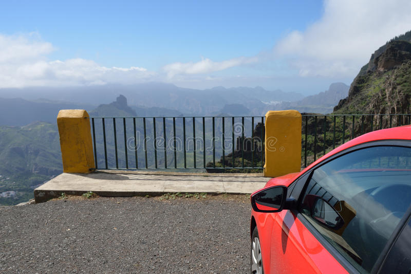 Viewpoint. Gran Canaria Stock Photo