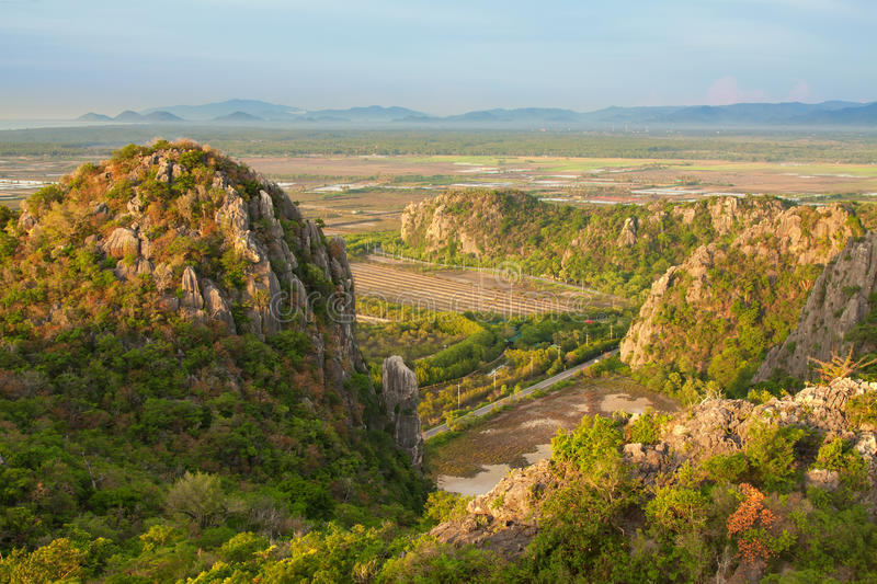 Download Viewpoint at Khao Daeng stock photo. Image of view, point - 24414290