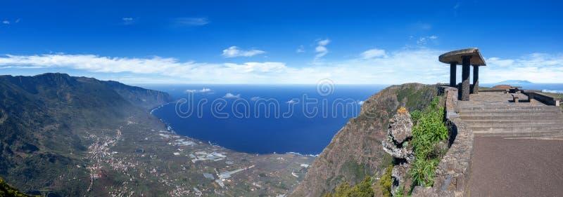 Viewpoint Mirador de Jinama - EL Hierro, isole Canarie immagine stock