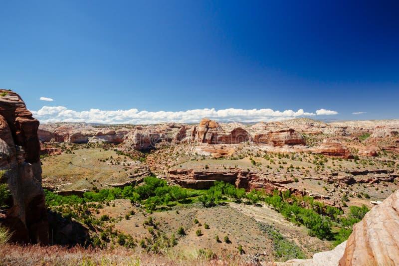 Viewpoint near Kiva Koffeehouse, Scenic Byway 12, Escalante, Utah, USA stock images