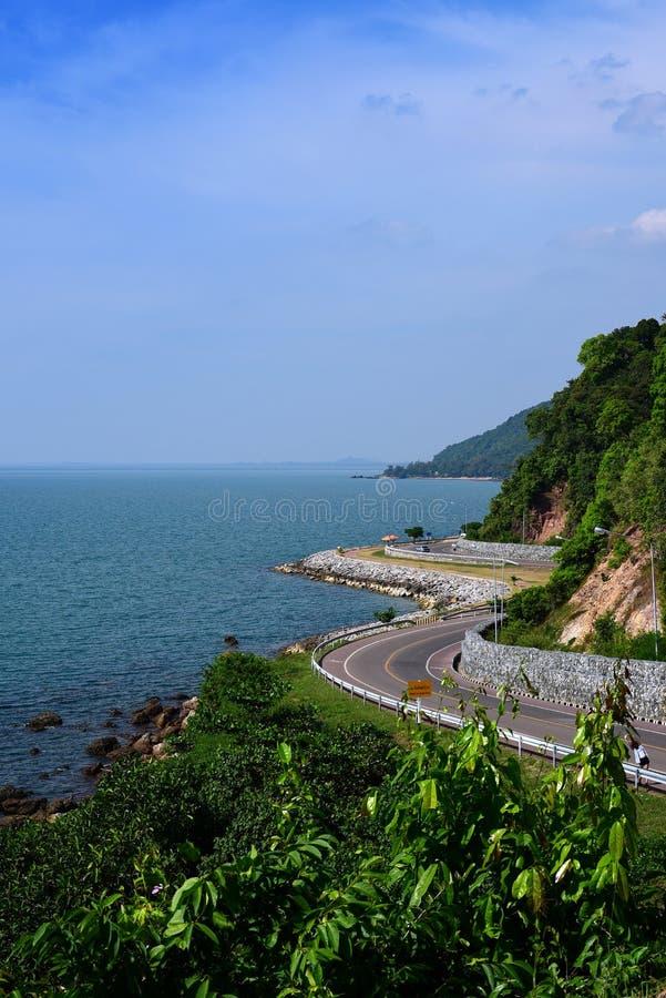 Viewpoint Noen Phaya Scence Area and Chalerm Burapa Chollathit. Thailand stock photo