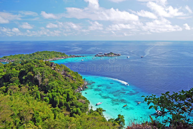 Download Viewpoint In Similan Islands Stock Photo - Image of seascape, season: 31005660