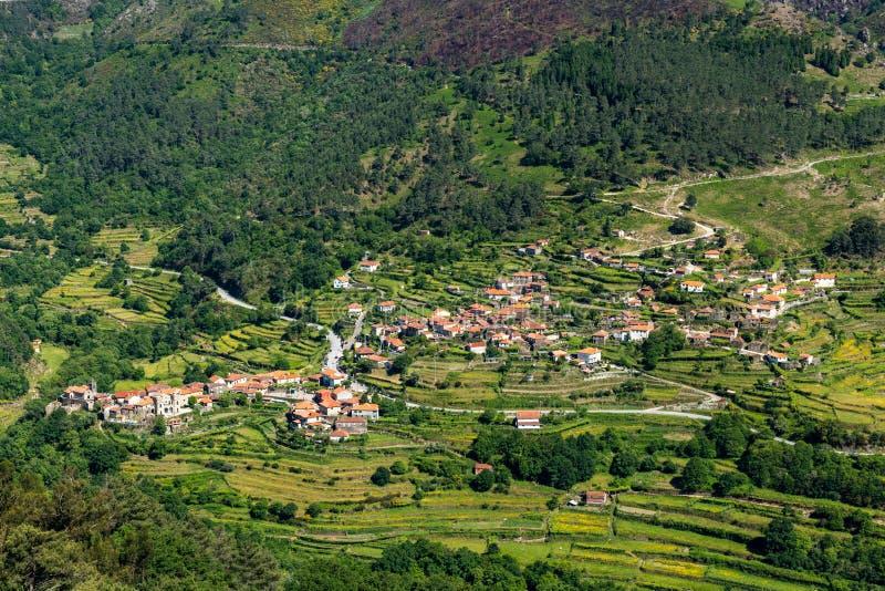 Viewpoit террас Sistelo стоковое фото