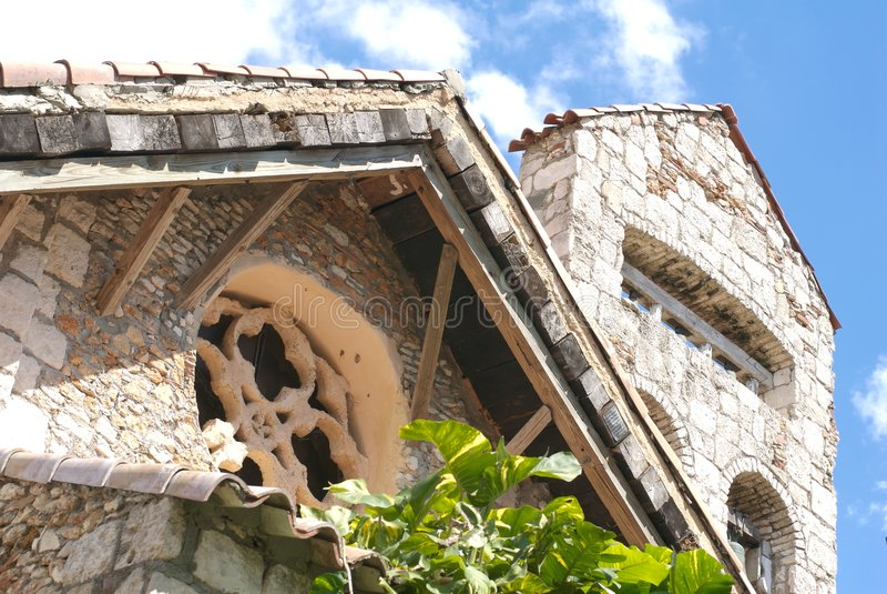 Views of altos de chavon royalty free stock image